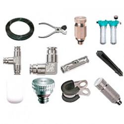 Аксессуары и трубы для оборудования туманообразования