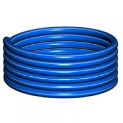 Полиэтиленовые трубы различных размеров и кабеля